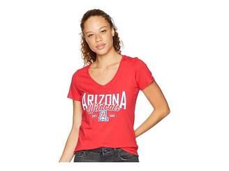 Champion College Arizona Wildcats University V-Neck Tee