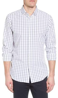 Mizzen+Main Bowie Windowpane Performance Sport Shirt