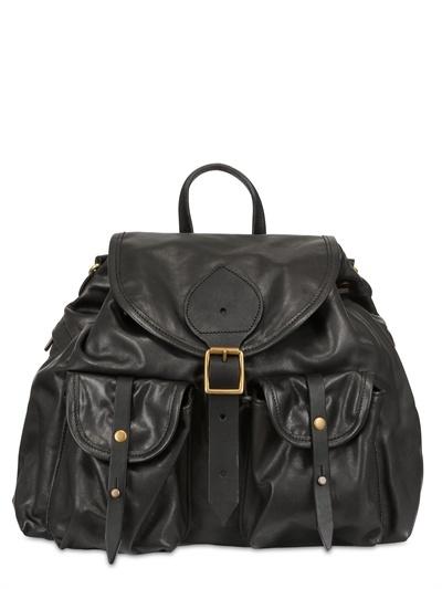 Jas M.B. Super Soft Leather Backpack