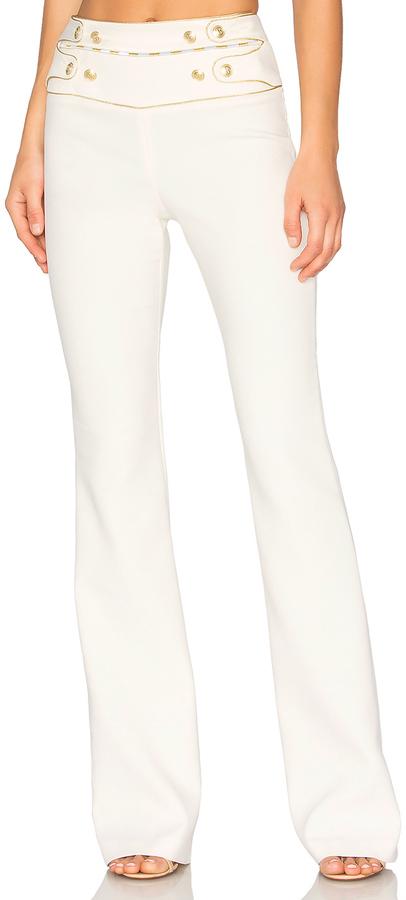 BalmainPierre Balmain High Waist Wide Leg Pant