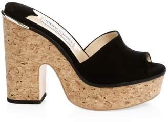 fa0a83a010a Black Cork Platform Sandals For Women - ShopStyle UK