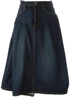 Junya Watanabe full denim skirt