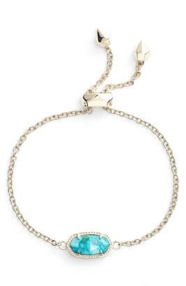 Kendra Scott VintFlea Elaina Bronze Veined Turquoise/ Gold Bracelet Perfect Gift Item