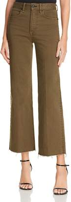Rag & Bone Justine Ankle Trouser Jeans in Army - 100% Exclusive