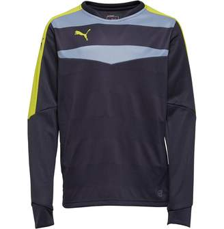 Puma Junior Boys Stadium Goalkeeper Shirt Ebony/Green