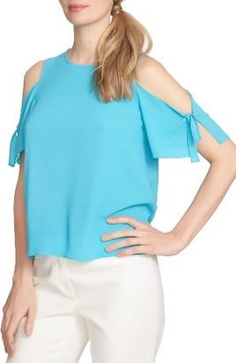 Women's Cece Tie Sleeve Cold Shoulder Blouse $69 thestylecure.com