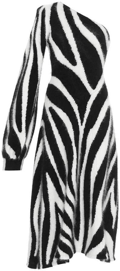 Emilio Pucci Zebra Knit Dress