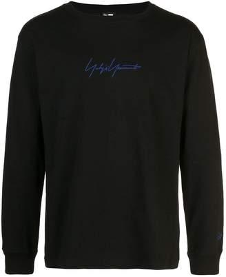 Yohji Yamamoto logo print sweatshirt