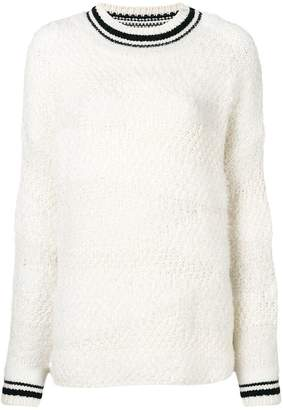 Ermanno Scervino contrast trim sweater