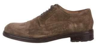 John Varvatos Suede Derby Shoes