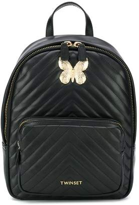 Twin-Set quilted backpack