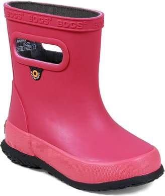 Bogs Skipper Solid Rubber Waterproof Rain Boot