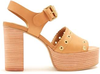 See by Chloe Nora leather platform sandals