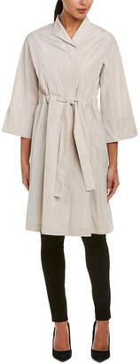 Lafayette 148 New York Cristalyn Trench Coat