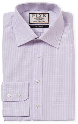 Thomas Pink Super Slim Fit Check Dress Shirt