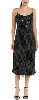 Elie Tahari Silk Maxi Dress