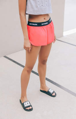 Ivy Park Logo Taped Woven Shorts