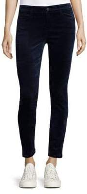 Joe's Jeans Skinny-Fit Velvet Ankle Jeans