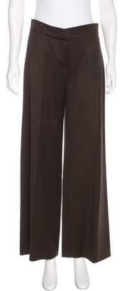 Oscar de la Renta Wool Wide-Leg Pants