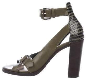 Derek Lam Leather Strap Sandals