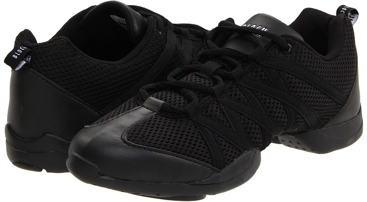 Bloch Criss Cross Dance Sneaker (Black) - Footwear