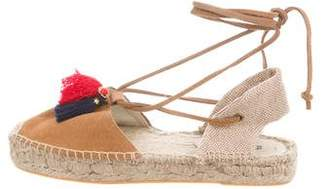 Soludos Tassel Lace-Up Espadrilles