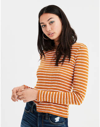American Eagle AE Long Sleeve Layering Tee