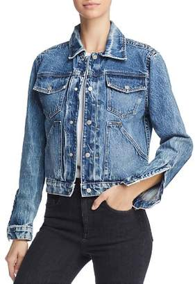 Hudson Ren Denim Trucker Jacket in Prisma