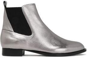 Rag & Bone Mason Metallic Leather Ankle Boots