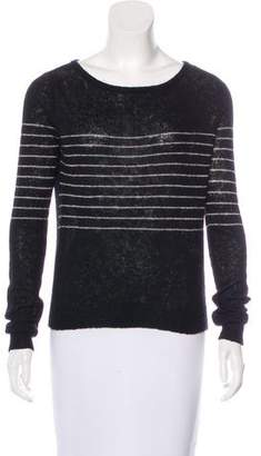 Paige Alpaca-Blend Striped Sweater