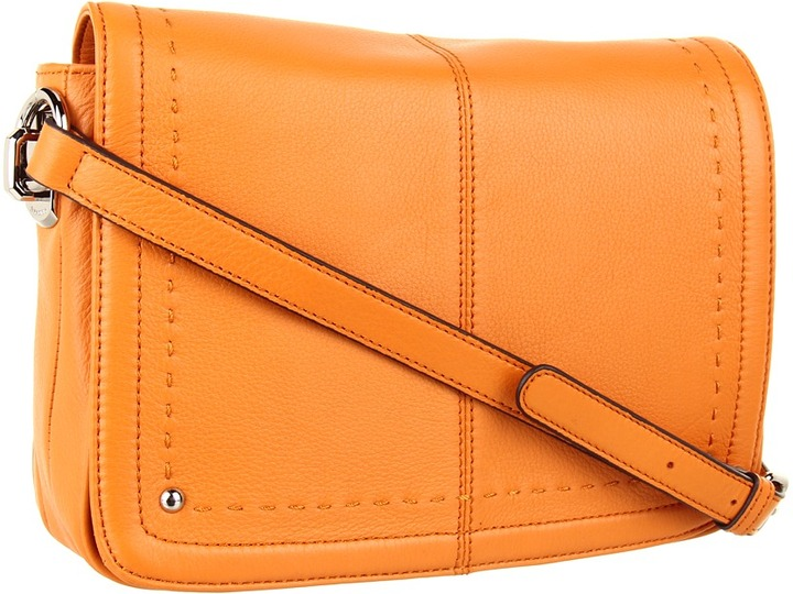 B. Makowsky Stella E/W Crossbody (Citrus) - Bags and Luggage
