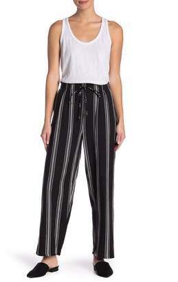 Angie Striped Straight Leg Pants