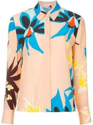 DELPOZO floral print shirt