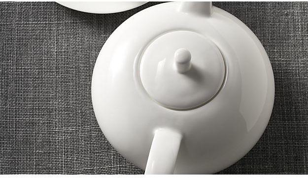 Crate & Barrel Bennett Teapot