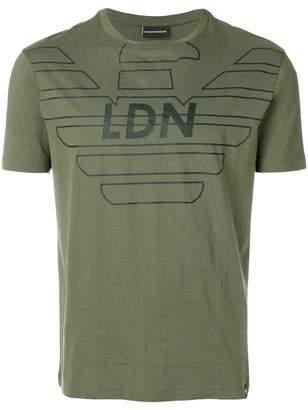 Emporio Armani LDN printed T-shirt