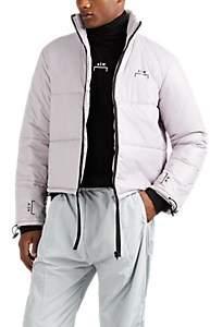 A-Cold-Wall* Men's Logo Crop Puffer Jacket - Lt Gray