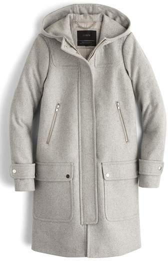 J. CREW J.Crew Wool Melton Duffle Coat