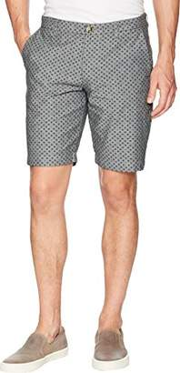 Ben Sherman Men's Micro Print Chambray Short