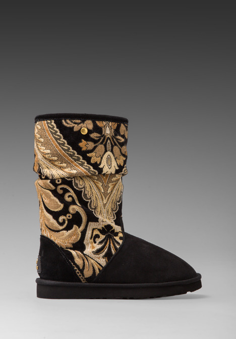 Koolaburra Myka Tapestry Boots with Wool and Twinface Sheepskin