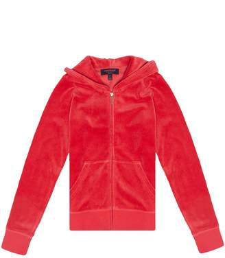 Juicy Couture Velour Royal Scottie Robertson Jacket for Girls