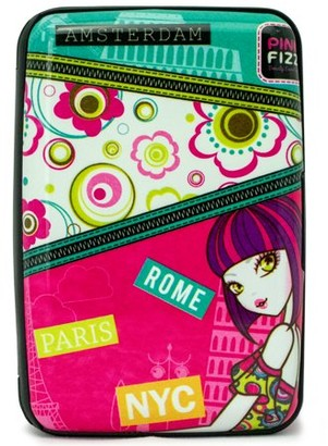 Pink Fizz RFID Blocking Wallet / Card Holder - Prevent Theft of Private Information (Kiera)