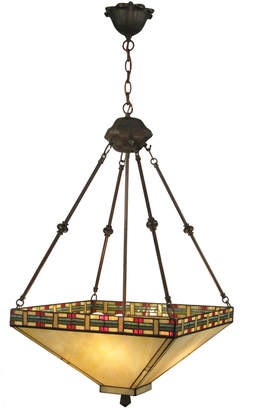 Dale Tiffany Beige Mission Tiffany Table Lamp