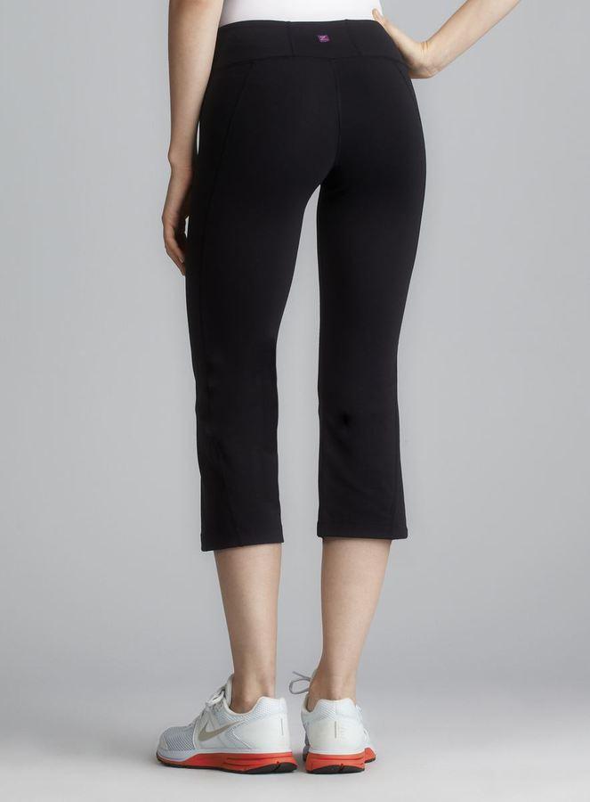 Zobha Black Evolve Stretch Capri Pant