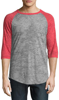 Alternative Apparel Big League Burnout Raglan T-Shirt