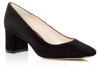 Kate Spade Women's Kylah Suede Square Toe Pumps