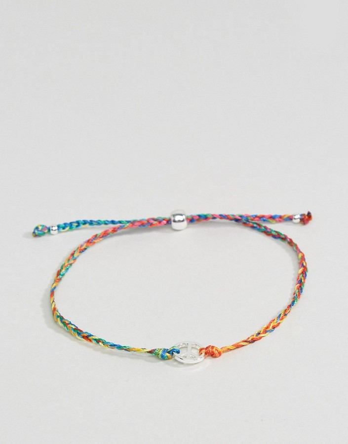Paul Smith Paul Smith Rainbow Thread Bracelet