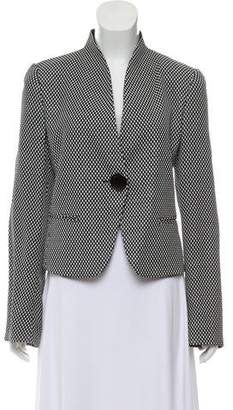 Armani Collezioni Polka Dot One-Button Jacket