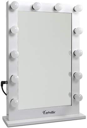 Dwelllifestyle White Make Up Mirror Frame with LED Lights