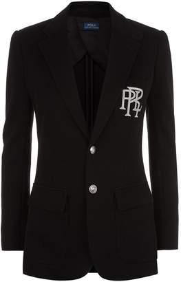 Polo Ralph Lauren Logo Embroidered Blazer