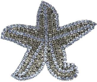 Giorgio Armani Blue Crystal Pins & brooches